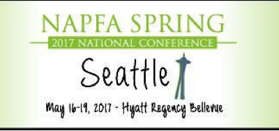 NAPFA May 2017 Conference, Come Meet Us We Will Be Signing Our New Book